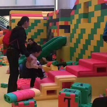积木王国展览出租大型积木儿童游玩设备商业租赁