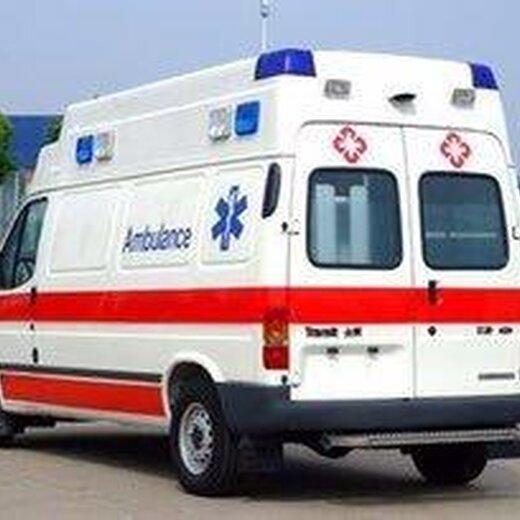跨省救护车出租图