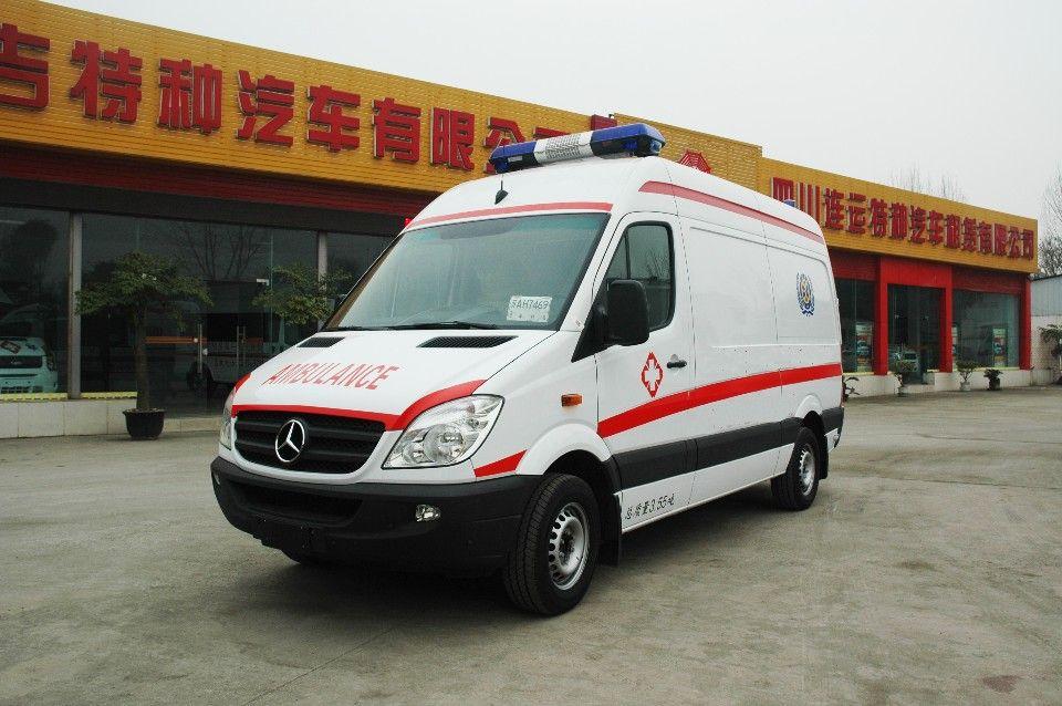 淮北私人救护车电话带呼吸机救护车出租