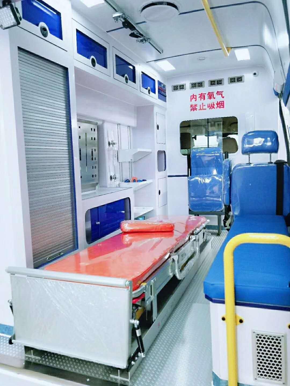 嘉峪关长途救护车出租多少钱