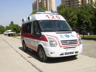 吕梁120护送救护车出租-联系