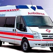 湖州長途護送救護車出租價格多少圖片