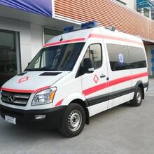 私人救護車出租哪里有白銀萬家送救護車出租24小時隨叫隨圖片