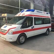 棗莊120救護車出租+電話多少圖片