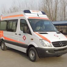 鄒城私人長途救護車出租安全可靠圖片