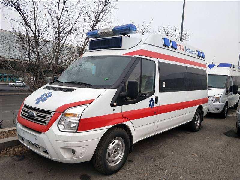蛟河私人救护车出租上门接送服务好