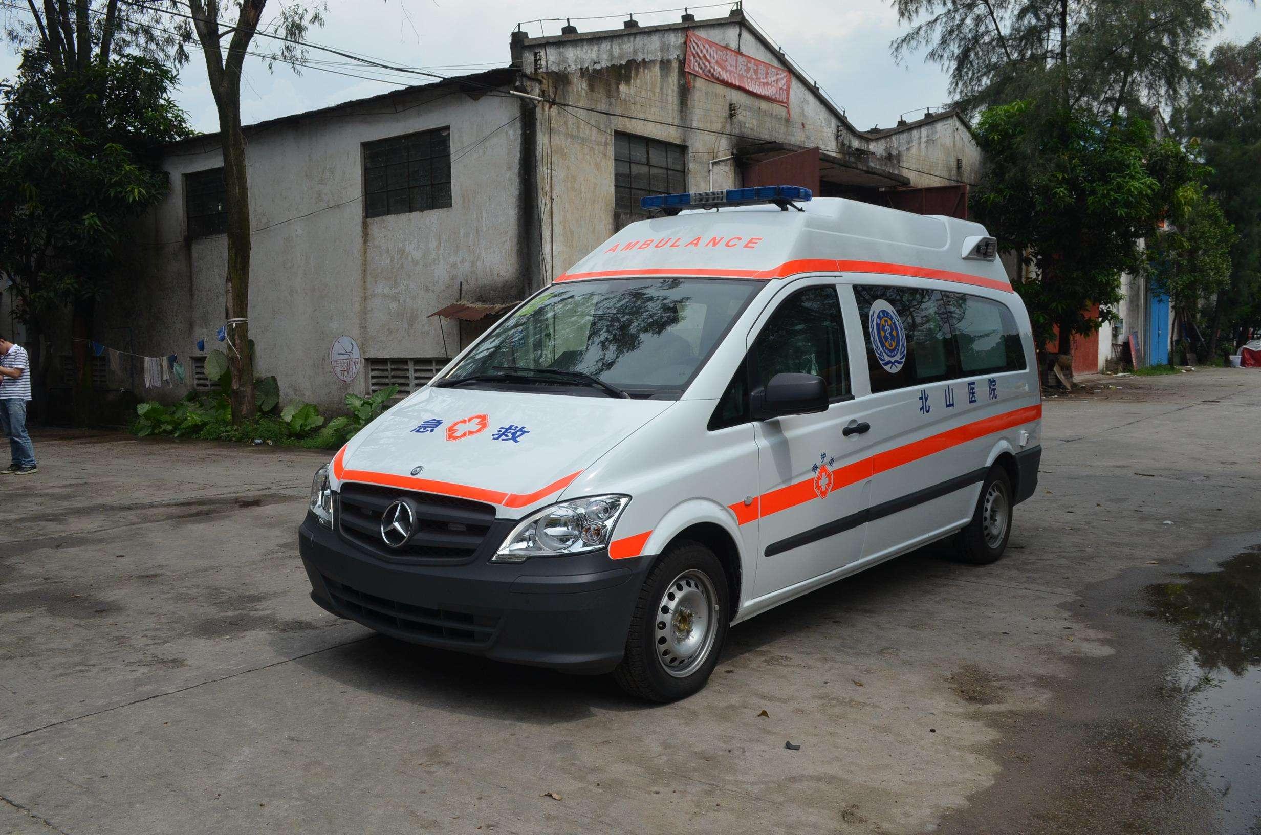 大安救护车出租24小时服务热线