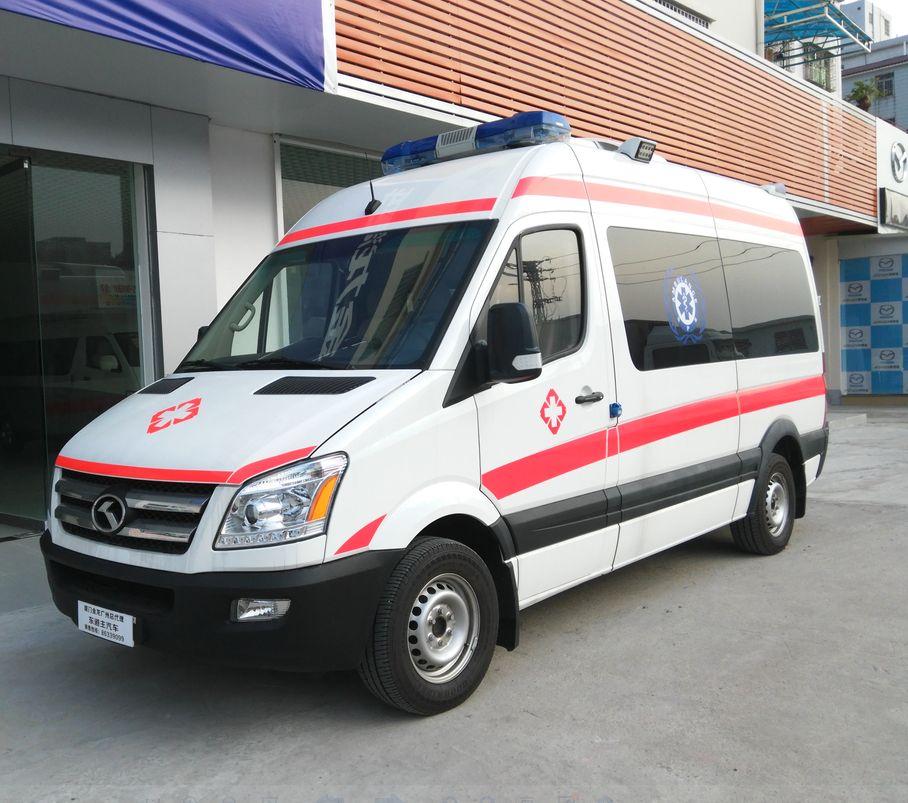 大豐長途救護車出租上門接送服務好