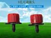 8孔红色流量可调滴头可调关闭可拆洗滴灌头微喷灌溉园艺小红帽