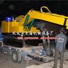 拖拉機吊車挖坑一體機大海機械廠家直銷四川南充價格實惠