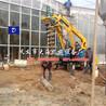 四川挖坑吊車一體拖拉機挖坑機大海機械廠家直銷