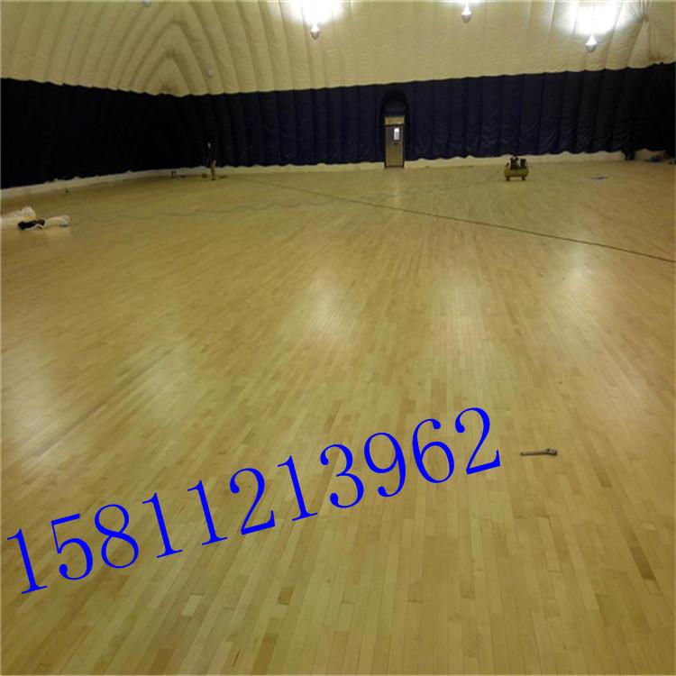 室内篮球场实木地板图片-普通室内篮球场报价 厂家