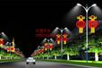 路灯杆灯笼造型灯路灯杆中国福造型灯凤凰造型灯