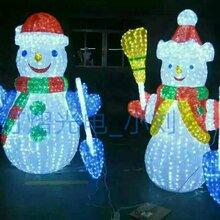 圣诞雪人造型灯圣诞老人造型灯小狗造型灯山羊造型灯图片