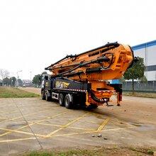 上海响箭重工混凝土泵车58米混凝土泵车安全可靠