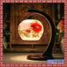 景德镇陶瓷灯具实木古典餐厅灯酒店别墅大气中式吸顶
