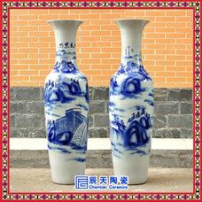 景德镇落地陶瓷大花瓶,大花瓶礼品陶瓷,大花瓶 青花瓷,景德镇陶瓷大花瓶