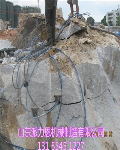 洞采劈裂棒大型劈裂机桂林破碎成本低