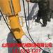 环保静态大型开山机柴油型液压劈裂机普洱-石灰岩开采施工现场