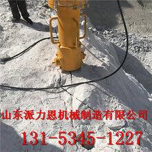 鹤壁矿山劈裂棒-打不动的石头用劈裂机