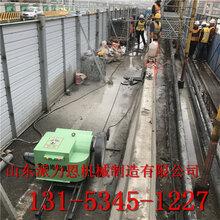 榆林电动绳锯机厂家供应-拆除桥梁支撑支座图片