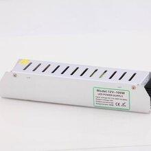 深圳厂家直销恒压长条开关电源12V100W小体积灯箱电源