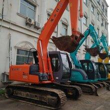 出售原装进口日立120二手挖掘机,手续齐全,免费试车