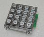 门禁专用合金键盘12位16位现货定制按键加键盘灯文字定制