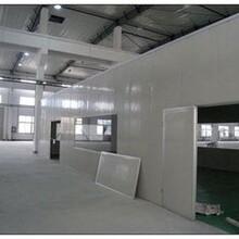 宁波光面夹芯板,宁波平面夹芯板,净化房制作安装
