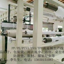 流延膜,塑料流延机,流延膜生产线,流延膜设备图片