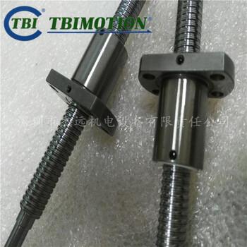 原裝TBIMOTION滾珠絲桿批發寧波機械傳動SFNHR1210絲桿加工