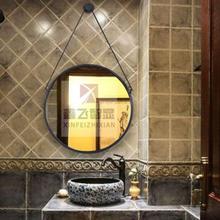 长期销售圆型智能魔镜卫浴间无框镜可看天气鑫飞智能镜触控卫浴镜