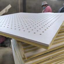 貴陽環保聚酯纖維吸音板穿孔石膏板防火阻燃防潮圖片