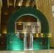酒店大堂噴水池玻璃戶外觀景裝飾玻璃流水鉗口玻璃造型