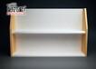 柯杰展柜厂家货源药店器材展示架烤漆双层货架医疗器械地台