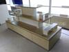 柯杰母婴店货架批发产品展示柜定做特价促销台木质中岛柜