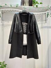 18新款Msiamo漠希摩女装黑白时尚个性走份折扣女装