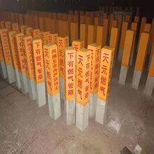 濮陽水泥標志樁電纜標志樁廠家用料質量放心圖片