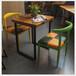 餐廳餐桌大理石餐桌新款大理石貼紙餐桌定做家具廠家