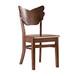 定做北歐蝴蝶椅西餐廳奶茶店咖啡休閑椅實木餐椅水曲柳實木椅子