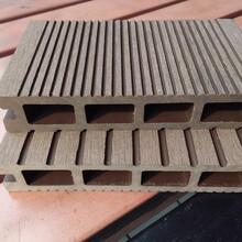 WPC塑木地板户外塑木平台公园栈道图片