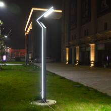 贵州铜仁地区石阡县太阳能庭院灯多少钱一套4米庭院灯安装方法图片