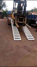 叉车使用高强度铝梯,高强度铝爬梯,上下车专用铝梯图片
