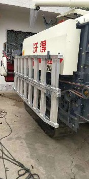 湖北定制3T-8T農機收割機拖拉機玉米機上下貨車鋁合金爬梯鋁梯