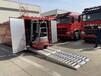 浙江省供應5-8噸履帶運輸車鋁梯,履帶消防車鋁合金爬梯