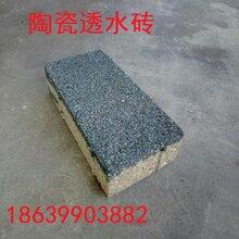 广西透水砖价格陶瓷透水砖7图片