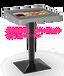 鑫飛智顯21.5寸自助點餐桌智能觸摸液晶屏時尚游戲餐桌防水送軟件