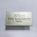箱包五金標牌,東莞亮鍍五金配件廠家供應五金標牌壓鑄電鍍