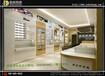眼镜展柜制作为何选用高密度板眼镜店装修展柜生产