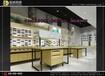 上海美式眼镜店装修效果图展柜生产厂家